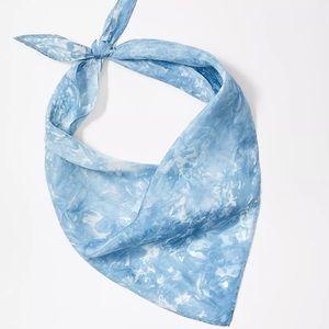 Loft Tie Dye Triangle Bandana NWT